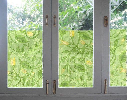 Fensterfolie - Sichtschutz Fenster Twine Divine - Fensterbilder