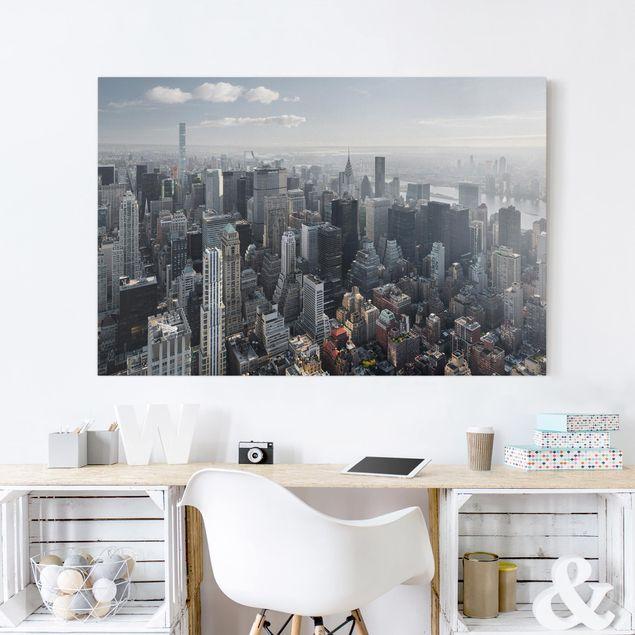 Leinwandbild - Upper Manhattan New York City - Querformat 2:3
