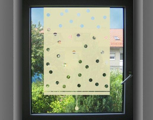 Fensterfolie - Sichtschutzfolie Sichtschutzfolie No.UL474 Rollo gepunktet - Milchglasfolie