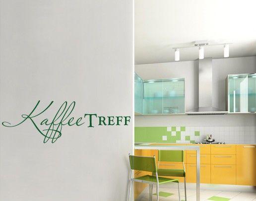 Wandtattoo Sprüche - Wandworte No.UL492 Kaffee Treff