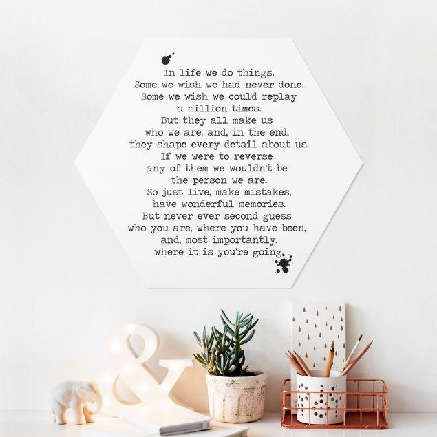 Hexagon Bild Forex - In life we do things