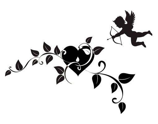 Wandtattoo No.TM156 Cupido