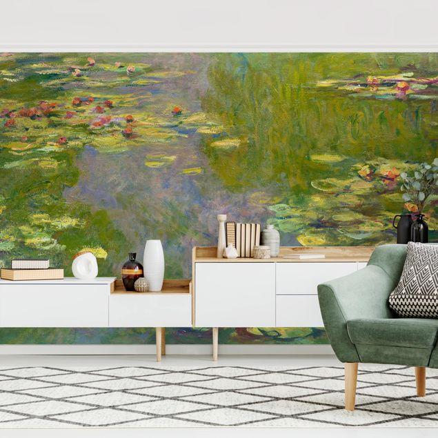 Fototapete - Claude Monet - Grüne Seerosen