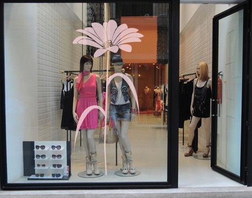 Fensterfolie - Fenstertattoo No.UL529 Blume - Milchglasfolie