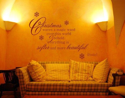 Wandtattoo Zitate - Wandzitate No.SK3 Christmas