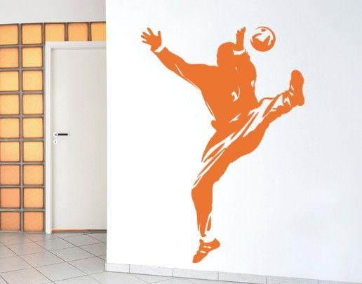 Wandtattoo Kinderzimmer Torwart No.UL557 Handball Tormann