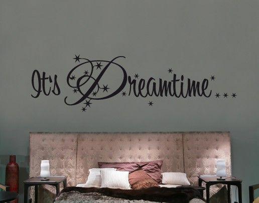 Wandtattoo Sprüche - Wandworte No.UL558 It's Dreamtime