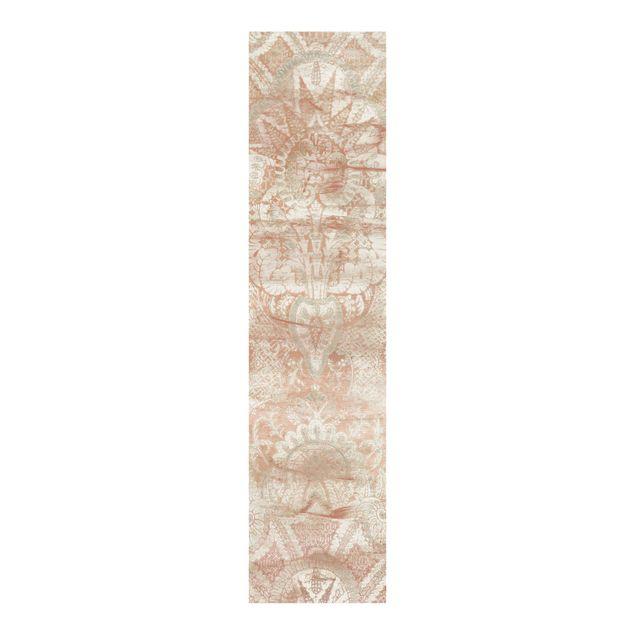 Schiebegardinen Set - Ornamentgewebe I - Flächenvorhang