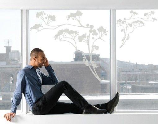 Fensterfolie - Fenstertattoo No.113 Japanische Bäume