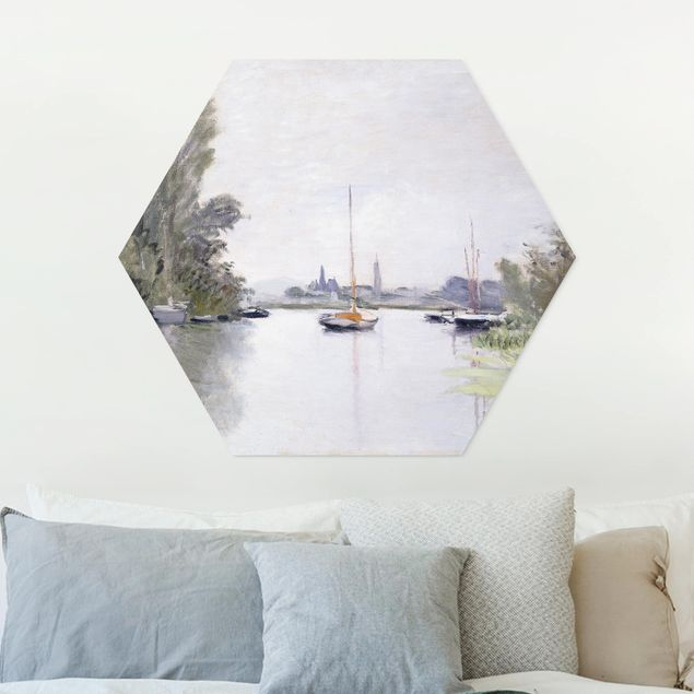 Hexagon Bild Forex - Claude Monet - Argenteuil