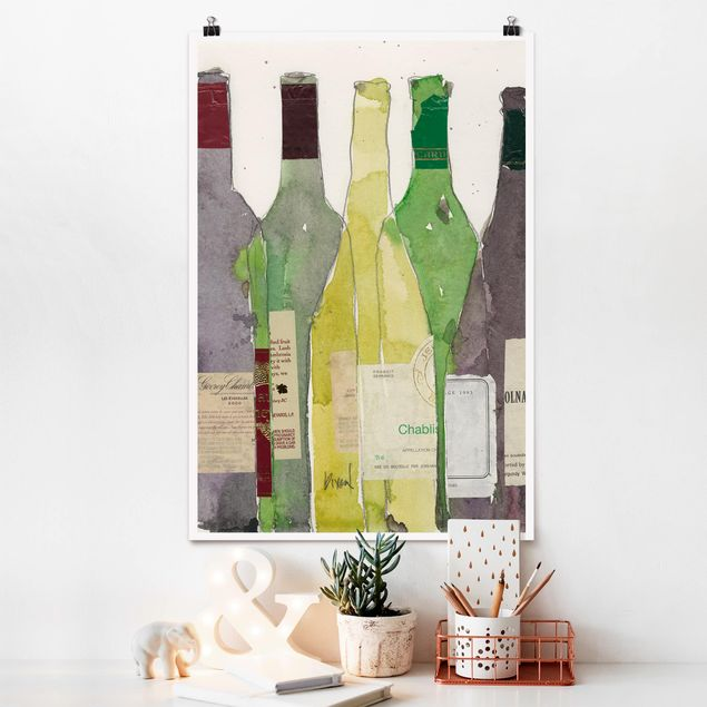 Poster - Wein & Spirituosen III - Hochformat 3:2
