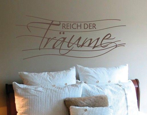 Wandtattoo Sprüche - Wandsprüche No.UL573 Reich der Träume