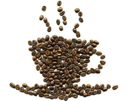 Wandtattoo No.294 Coffee Beans Cup