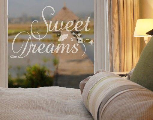 Fensterfolie - Fenstertattoo No.214 Sweet Dreams - Milchglasfolie