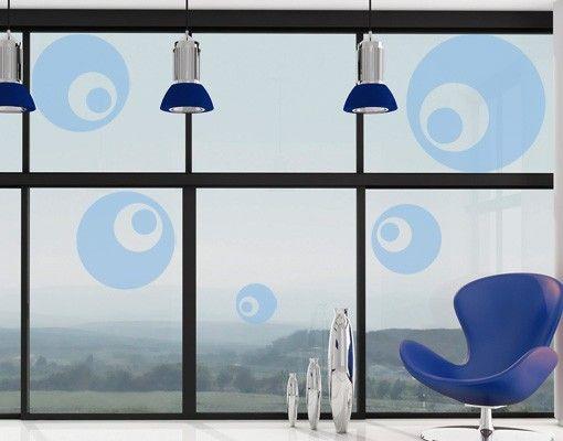 Fensterfolie - Fenstertattoo No.152 Pop Art - Milchglasfolie