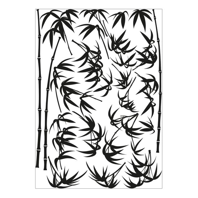 Wandtattoo - Bambus Baum