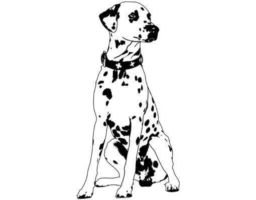 Wandtattoo Hund No.TA2 Dalmatiner