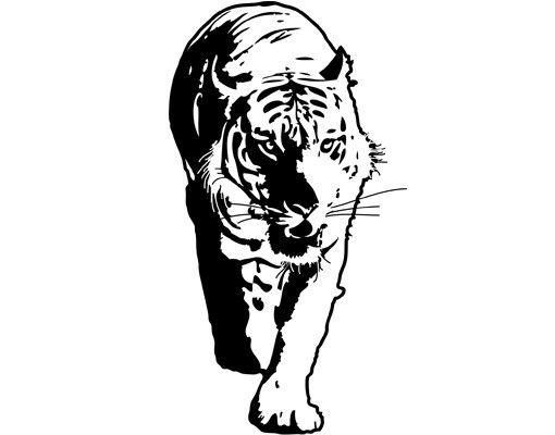 Wandtattoo Tiger No.TA6 Tiger