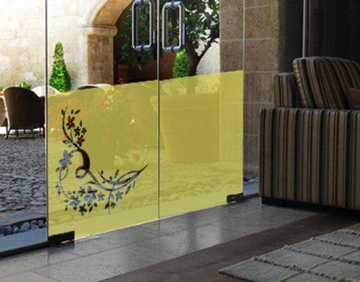 Fensterfolie - Sichtschutzfolie No.358 Lieblich I - Milchglasfolie