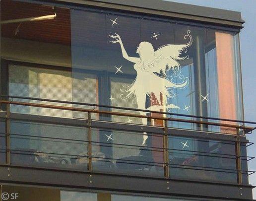 Fensterfolie - Fenstertattoo No.SF938 Sternenelfe - Milchglasfolie