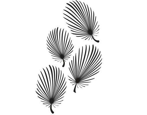 Wandtattoo Baum No.CG100 Feathery