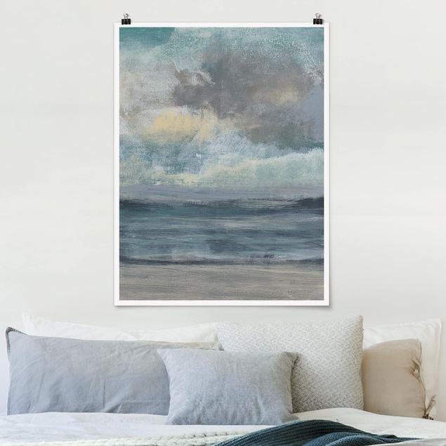 Poster - Strandaufgang I - Hochformat 3:4