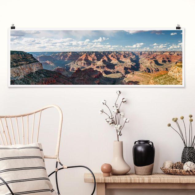 Poster - Natur des Canyons - Panorama Querformat