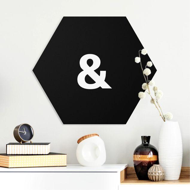 Hexagon Bild Forex - Buchstabe Schwarz &