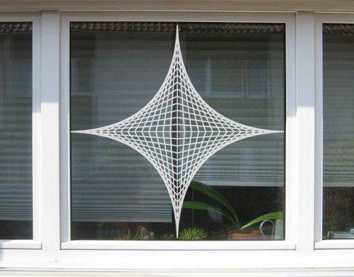 Fensterfolie - Fenstertattoo No.UL20 Konstruktion - Milchglasfolie