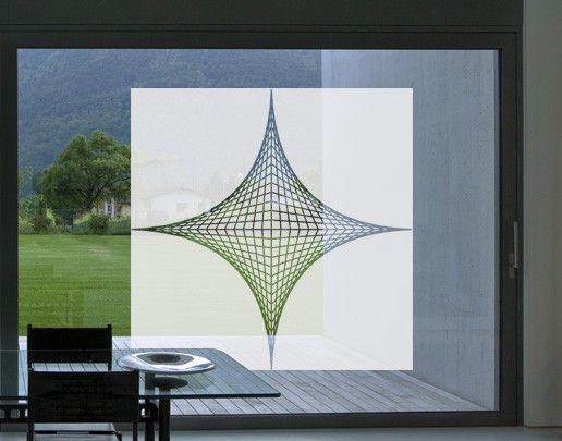 Fensterfolie - Sichtschutzfolie No.UL20 Konstruktion II - Milchglasfolie