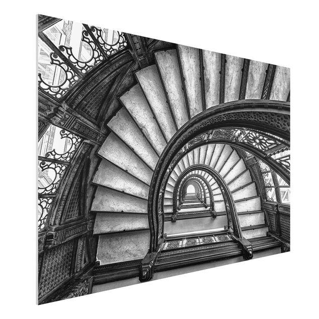 Forex Fine Art Print - Chicagoer Treppenhaus - Querformat 2:3