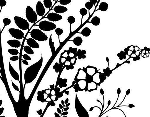 Wandtattoo Floral Ranke No.TA43 Bloomy Twine
