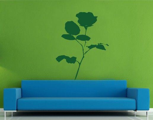 Wandtattoo Rose No.UL45 Rose
