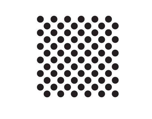Wandtattoo No.JO60 Checked Dots