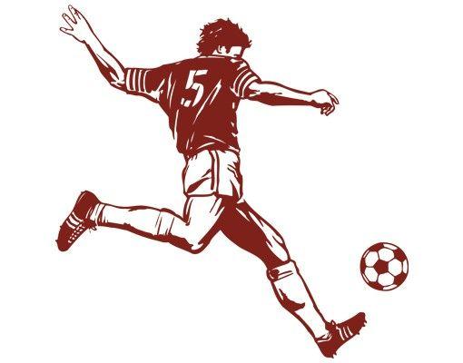 Wandtattoo Fußball - Kinderzimmer No.IS52 Kick!