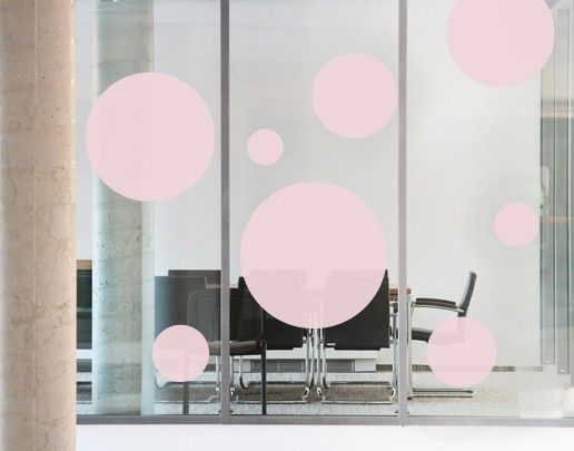 Fensterfolie - Fenstertattoo No.UL75 Spots - Milchglasfolie