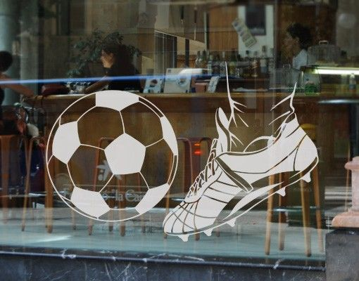 Fensterfolie - Fenstertattoo No.EG7 Kick 2 - Milchglasfolie