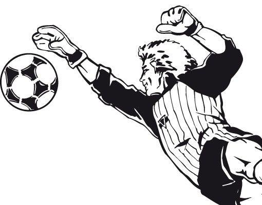 Wandtattoo Fußball - No.TA77 Torwart II