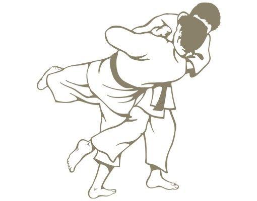 Wandtattoo No.IS56 Judoka
