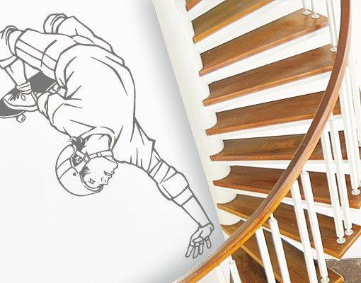 Wandtattoo No.FB8 Skateboard Trick