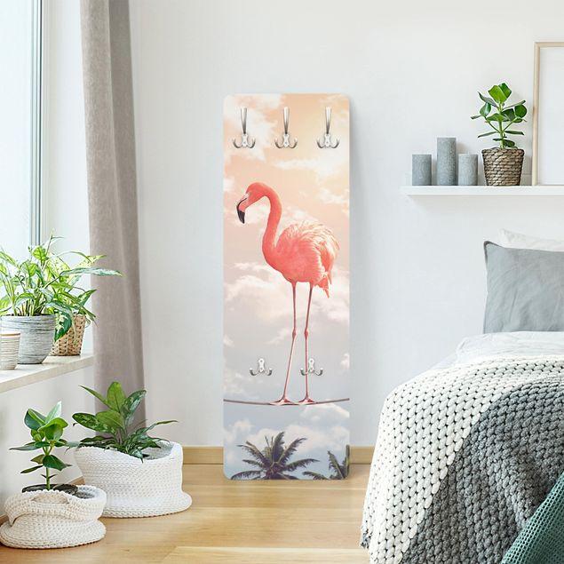 Garderobe - Jonas Loose - Himmel mit Flamingo