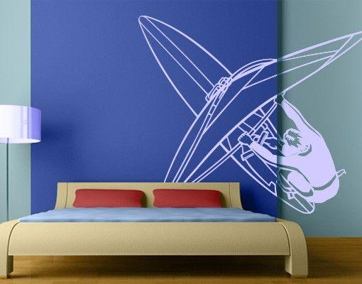 Wandtattoo Kinderzimmer No.FB9 Windsurfen