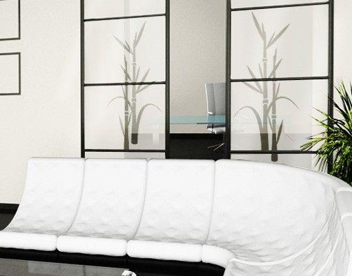 Fensterfolie - Sichtschutzfolie No.8 Bambus II - Milchglasfolie