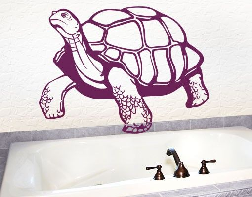 Wandtattoo No.EG11 Schildkröte