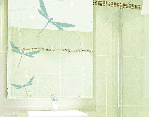 Fensterfolie - Fenstertattoo No.FB13 Libellen - Milchglasfolie