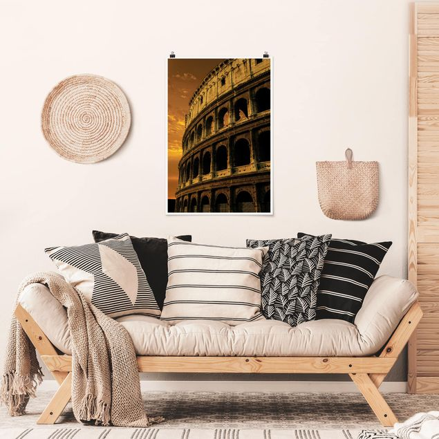 Poster - The Colosseum - Hochformat 3:2