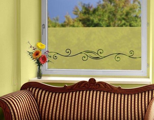 Fensterfolie - Sichtschutzfolie No.37 Ornament I - Milchglasfolie