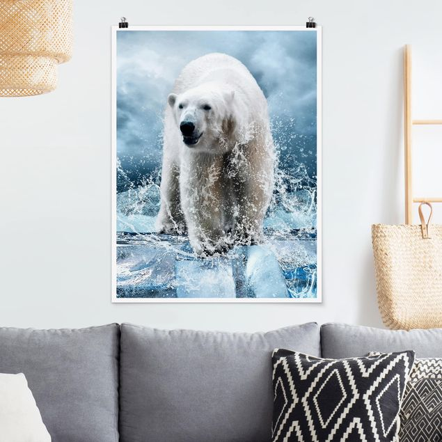 Poster - King of the North - Hochformat 3:4