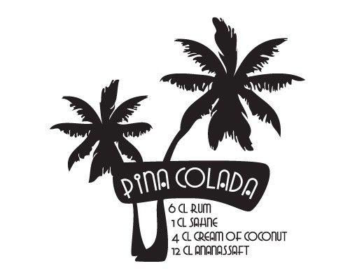 Wandtattoo No.JO13 Pina Colada