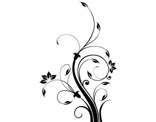 Wandtattoo Floral Ranke No.796 Floral V